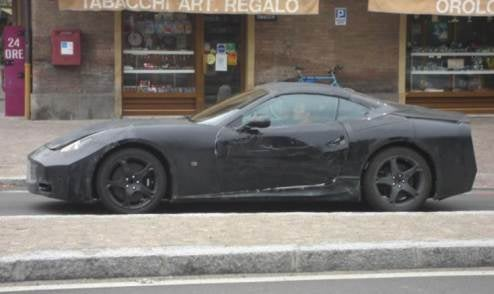 Ferrari F149 Dino California GT Thingamacar Caught Without Crazy Rear Camo