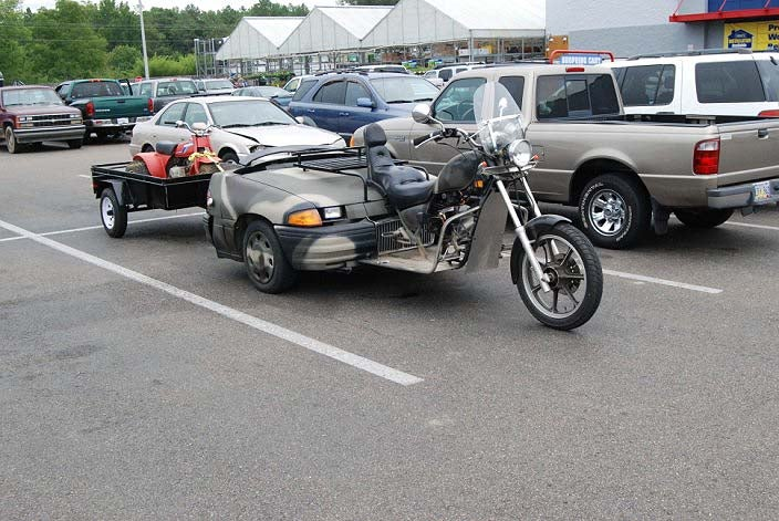 Awesome Redneck Trike