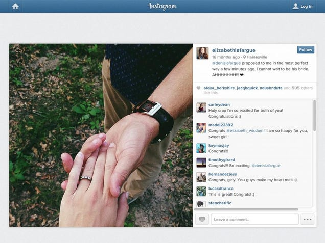 Couple Meets, Weds Thanks to Instagram
