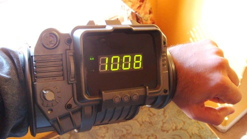 Check Out My Sweet Pip-Boy Watch