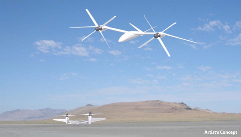 This Is How DARPA's Robotic VTOL X-Planes Will Dominate The Sky