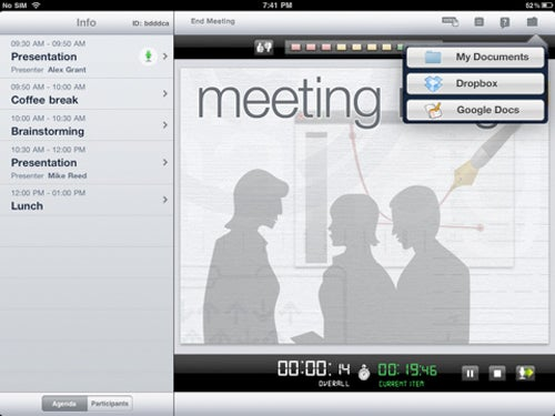 Halve Meeting Times With the Presentation-Sharing and Voting iPad App 'Meeting Mngr Pro'