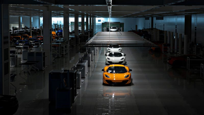 The World's Most Advanced Car Factory As It's Never Been Seen Before