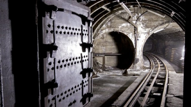 London's abandoned, underground, and notoriously hard-to-reach mail train