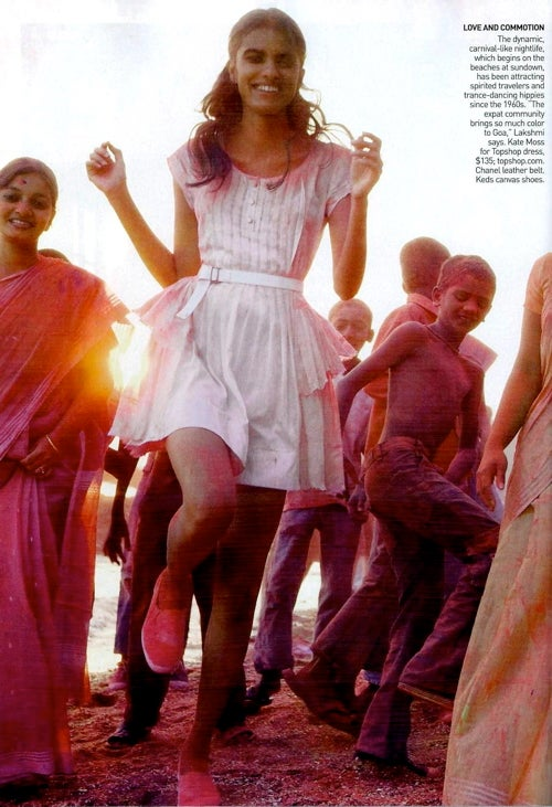 Vogue Goes To India: $2,290 Dresses, Marigolds, & Fashion