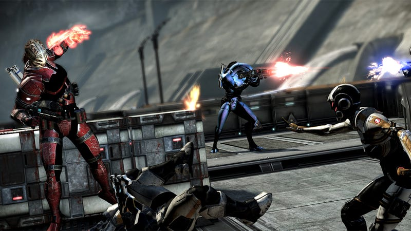 Mass Effect 3 Multiplayer Bonus Weekends Finally Available on PS3