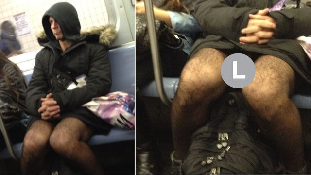 Have You Seen This Man? Or Maybe Just His Dick? Meet Your New Subway Flasher. (NSFW)