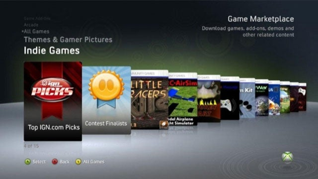 Xbox Live Indie Games Hit By Ratings Manipulation