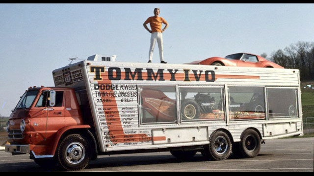 What's the coolest race transporter of all time?