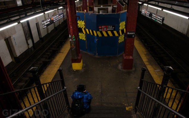 90 Percent of New York City's Subway Stations Are Falling Apart