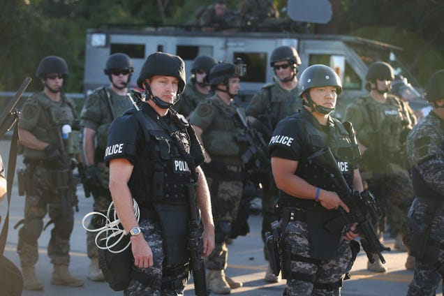 Why the Ferguson Police Force Looks Like a Military Unit