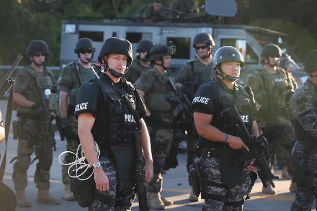 Why the Ferguson Police Force Looks Like a Military Unit