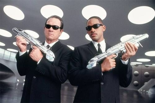 Will Smith and Tommy Lee Jones To Jump Out at You in Men in Black 3D