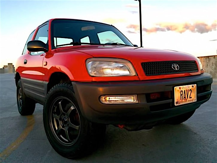 for 5 000 is this 1996 toyota rav4 something to rav about. Black Bedroom Furniture Sets. Home Design Ideas