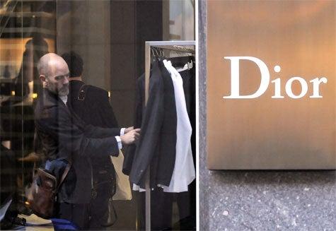 Michael Stipe Shops Dior