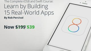 Get the Complete iOS8 & Swift Development Course for $39 (Save 80%)