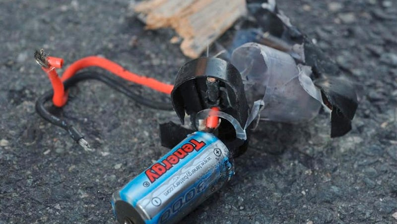 Here Is What's Left of the Boston Marathon Bombs