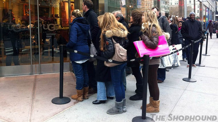 Giant Line Outside UGG Store Disgusts Fashionistas