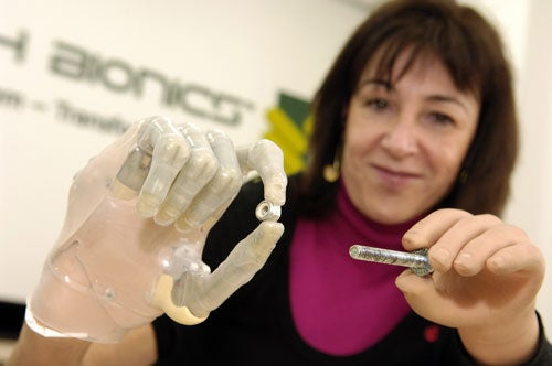 World's First Bionic Finger Gives New Meaning to SuperPoke