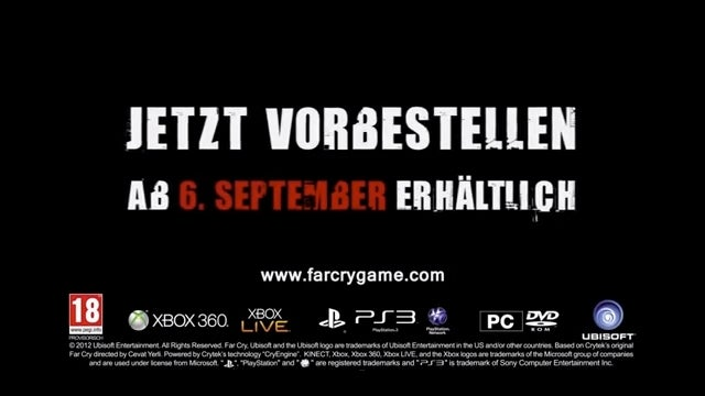 Leaked Far Cry 3 Trailer Gives Release Date