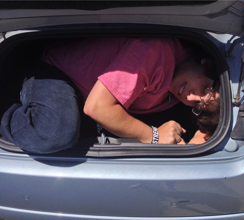 Apparently I Can Fit In The Trunk Of A Fiat