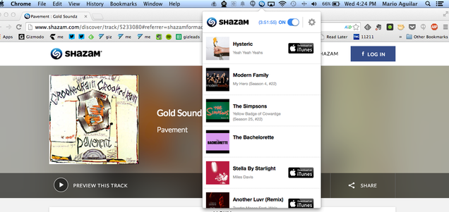 Shazam For Mac Brings