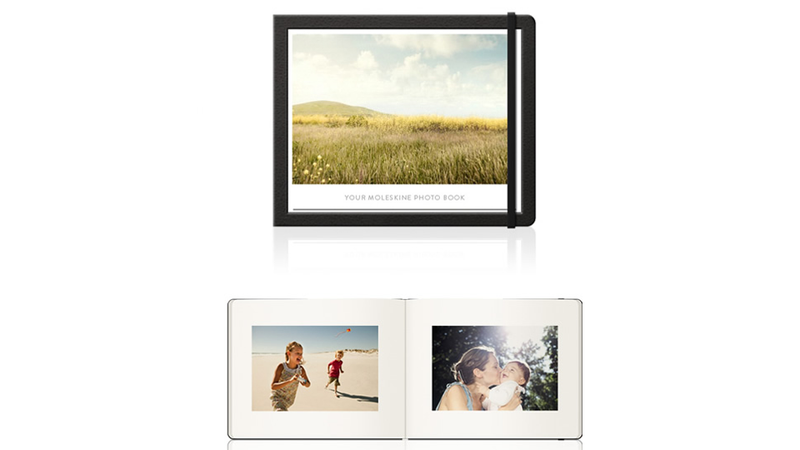 Moleskine and Milk's Personalized Photo Books Are Unsurprisingly Sleek