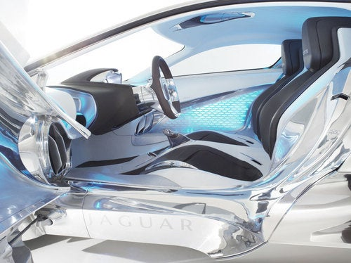 Jaguar C-X75 Concept: First Interior Photos
