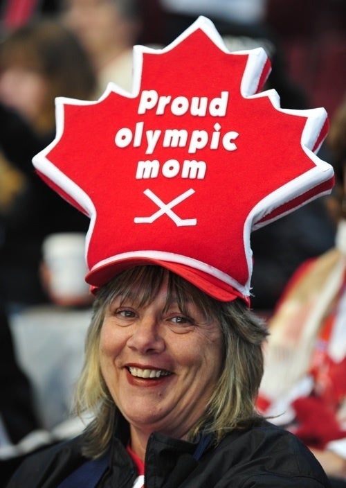 If There Were Gold Medals For Hats, This Mom Would Be The Winner