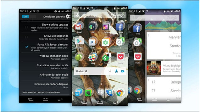 Enable Android's Secret Right-to-Left Layout If You're Left Handed
