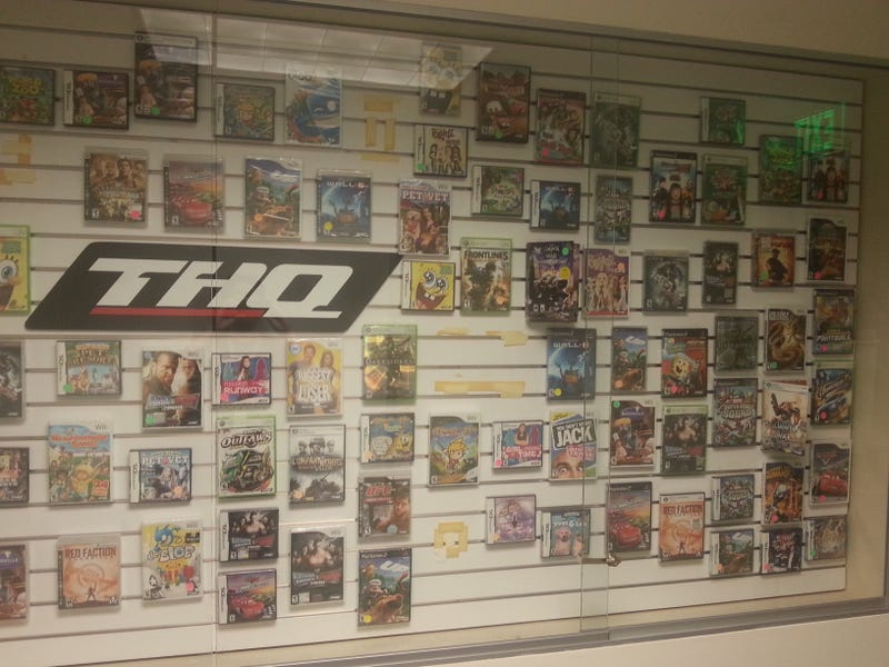 THQ's Crap Is Still There, Gathering Dust