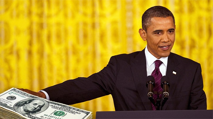 A Timeline of Barack Obama's Reelection Campaign Begging for Cash