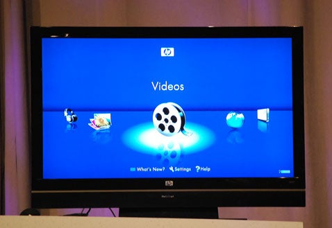 HP MediaSmart TVs To Become Media Center Extenders