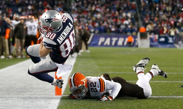 Danny Amendola Draws Ire Of Insufferable Boston Media