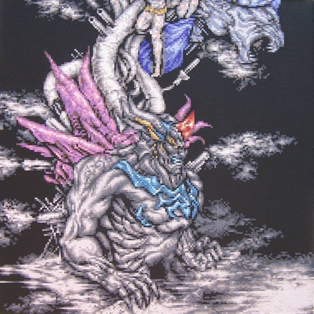 The Final Boss of Final Fantasy VI In Its Full Glory