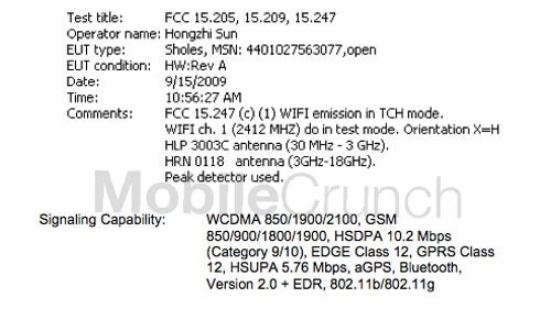 AT&T Compatible Motorola Droid Sneaks Into FCC Documents