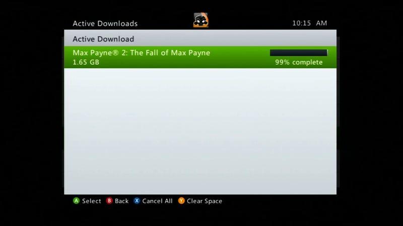 Max Payne 2 Firing Blanks on Xbox Live