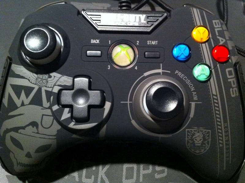 Black Ops Xbox 360 Controller Visual Guide