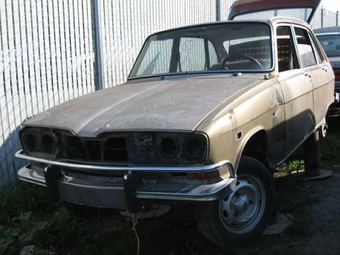 Possibly The Only 1969 Renault 16 In America