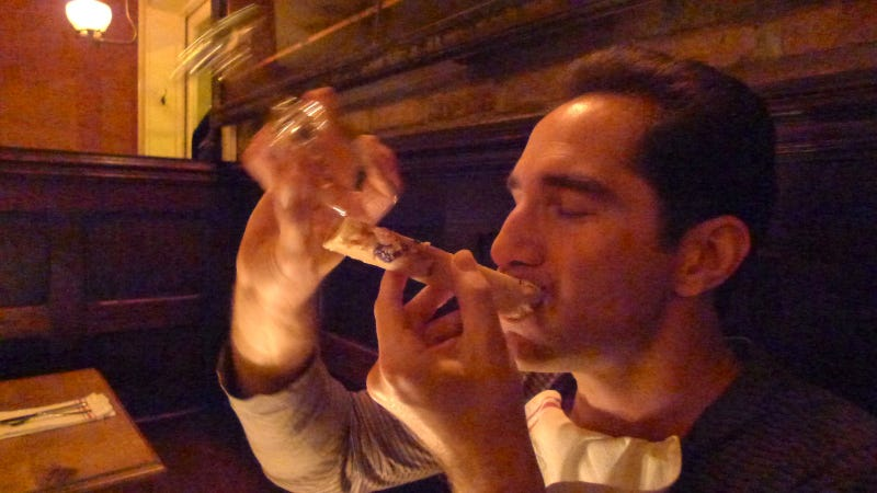 The Bone Luge: Gross, Weird, But More Than Just a Gimmick