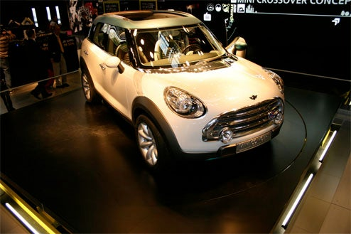 Best Mini Crossover Shots Yet From Paris Show Floor