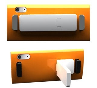 Kickster Takes A Stand, Adds Grip and Kickstand to iPod Nano