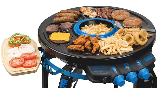 This Deep-Frying Portable Grill Is a Jack of All Noms