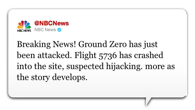 NBC News' Twitter Feed Hacked with Fake Terrorist Attack (Updated)