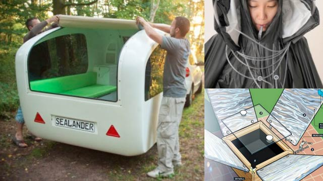 Amphibious Camping Trailer Morphs from Tent to Boat and More from TreeHugger