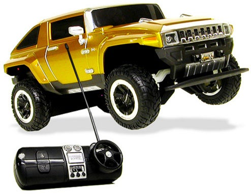 1:16 Scale Hummer HX Concept Raises Eyebrows