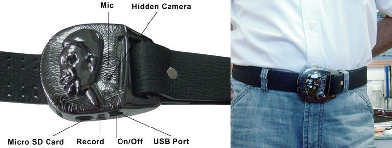 The 'Barack' Obaba Spycam Belt Buckle