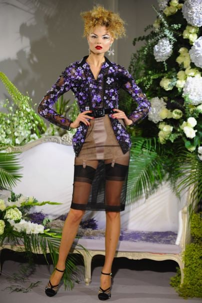 Dior Couture: Fabulous, Vintage-Inspired Top & Bottomlessness