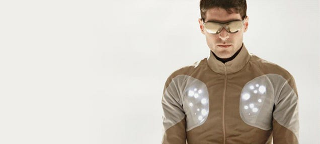 Superhero jacket may save your life one day