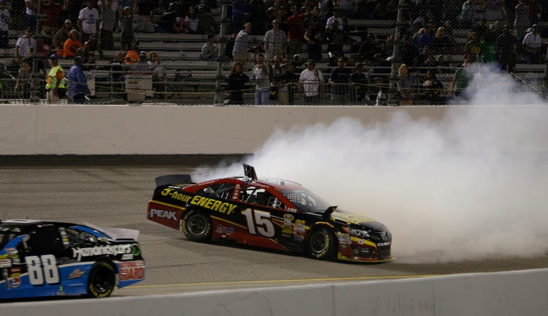 NASCAR Driver Intentionally Spins Out To Put Teammate In Playoff [Update]